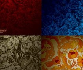 beautiful pattern background vector