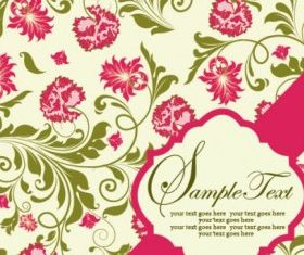 pattern background card 04 set vector