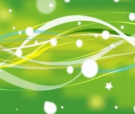 Abstract Green Nature Background vector