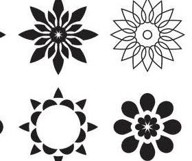 Flowers Templates free Illustration vector