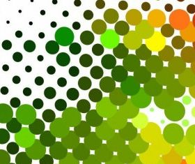 Colorful Dots Background Graphic vectors material