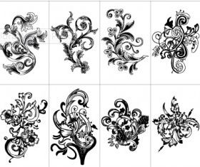 Free Floral Pack set vector