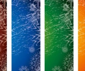 Xmas Banners vectors graphics