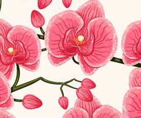 Flowers Backgrounds 4 vector
