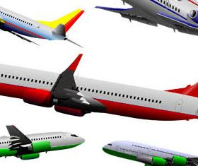 Airplane graphic design vector