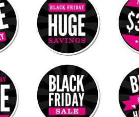 Sale Stickers free set vector