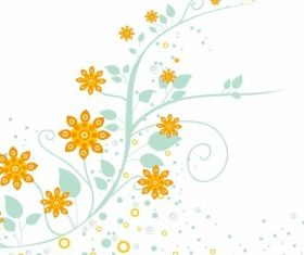 Floral Ornament graphic design vectors