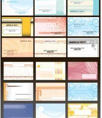 fine card template vectors graphics