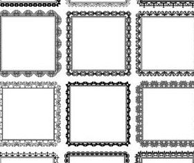 Decorative Vintage Frames 21 vectors