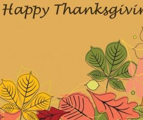 Happy Thanksgiving Illustration vector graphic