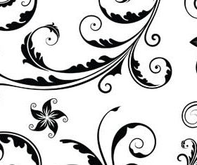 Floral Ornament Elements Mix 5 vectors graphic