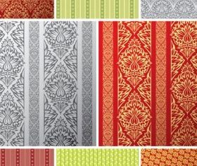 tile pattern background 2 vectors graphics