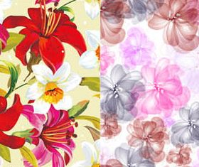 Floral Backgrounds Set 23 vectors graphics