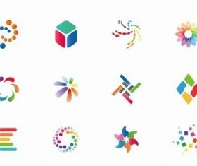 Colorful Icon Set vectors
