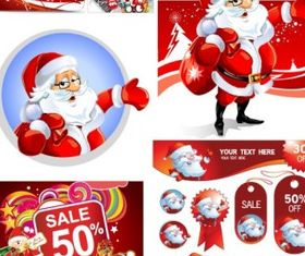 christmas discount sales calendar shiny vector