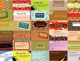 business card background pattern vector