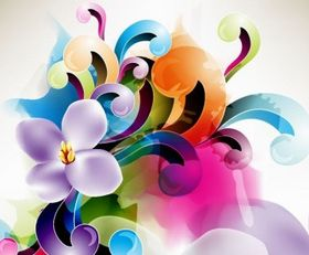 Floral Ornament Illustration vector