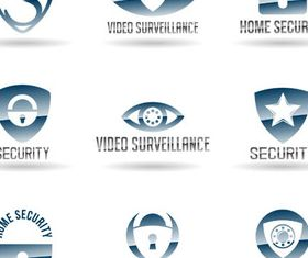 Security Company Logo art vector