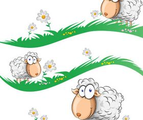 Sheep free vector design