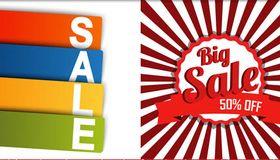 Sale Backgrounds 5 vector