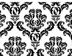 Free damask pattern 2 vector