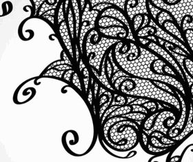 lace pattern background 01 vectors