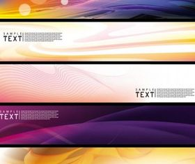 dynamic banner 01 creative vector