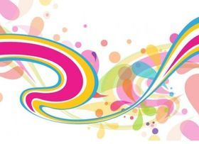 Abstract Colorful Background vector design
