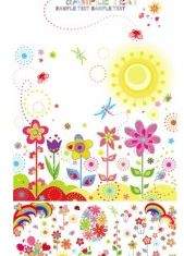 flower children illustrator design vectors