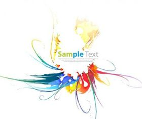 Abstract Colorful Vector Art