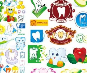 protect teeth cartoon icon vector