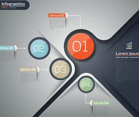 Infographics Backgrounds 27 vector