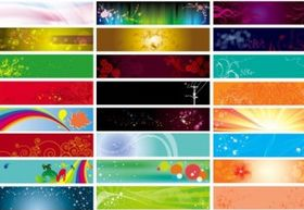 banner background design vector