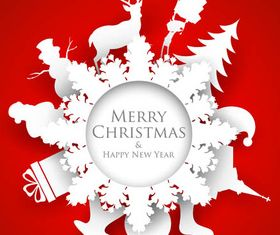 Creative Christmas Backgrounds art vector material