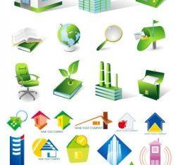 house real estate theme icon vector design