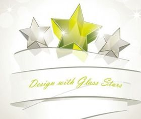 dynamic star background shiny vector