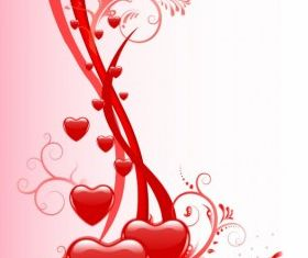 Valentine day background creative vector