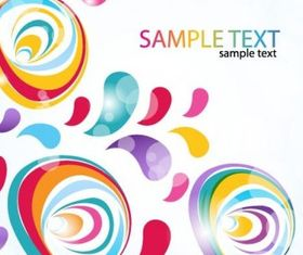 Abstract Colorful Background vectors graphic