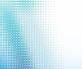 Abstract blue technical background vectors material