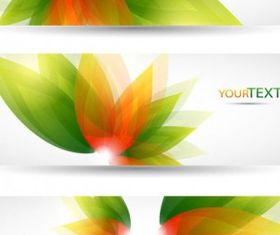 flowers background banner template vectors graphic