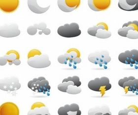 Weather Icons Graphic vectors