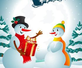 Christmas Backgrounds 4 vector