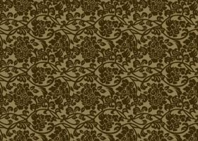 Floral Pattern graphic set vector