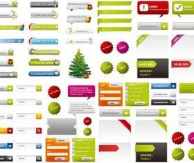 web design elements 02 design vector