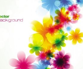 spring flowers background 03 vector