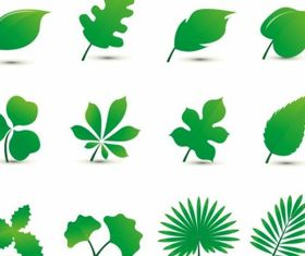 Leaf free design vectors