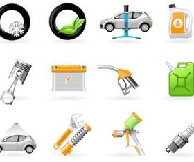 maintenance icon design vectors