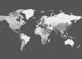 dark world map design vector