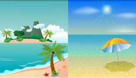 Tropical Islands Set 3 vectors