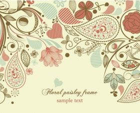 floral background pattern 01 vectors graphic
